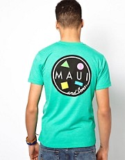 Maui And Sons &ndash; T-Shirt mit Cookie-Aufdruck hinten