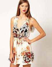 Vestido con estampado floral Remy de Alice McCall
