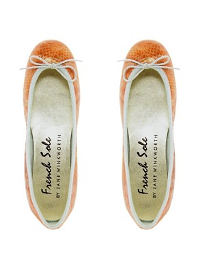Image 3 ofFrench Sole Harriet Ballet Pumps