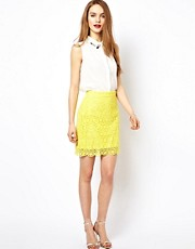 French Connection Lisella Lace Skirt