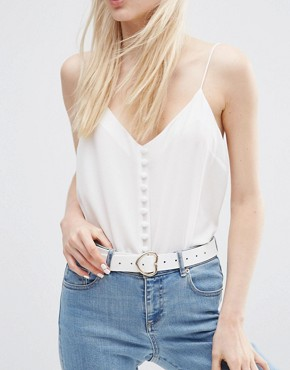 ASOS Heart Buckle Belt