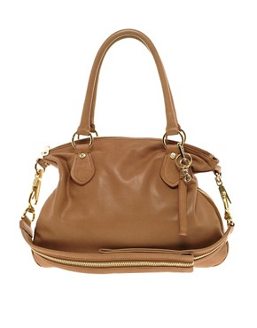 Image 1 ofLove Moschino Leather One Love Slouch Bag &amp; Purse