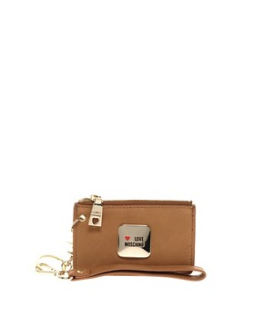 Image 3 ofLove Moschino Leather One Love Slouch Bag &amp; Purse