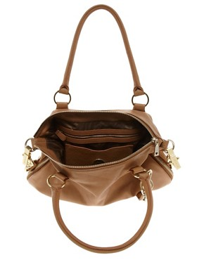 Image 4 ofLove Moschino Leather One Love Slouch Bag &amp; Purse