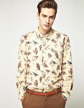 Image 1 of Barbour Jackdaw Print Shirt