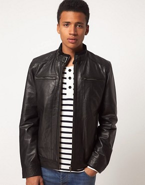 Image 1 ofSelected Jannik Leather Jacket