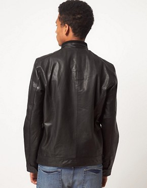 Image 2 ofSelected Jannik Leather Jacket