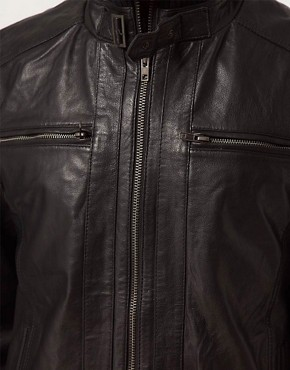 Image 3 ofSelected Jannik Leather Jacket