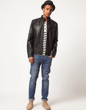 Image 4 ofSelected Jannik Leather Jacket
