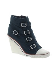 Ash Thelma Heeled Trainer