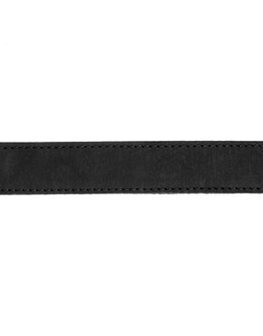 Image 4 ofASOS Leather Belt WIth Web Back