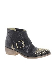 Bertie Pendy Studded Ankle Boots
