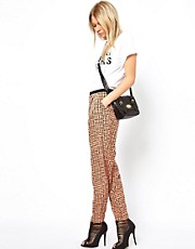 ASOS Trouser in Letter Print
