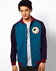 Mishka Sweat Jacket Keep Watch Varsity