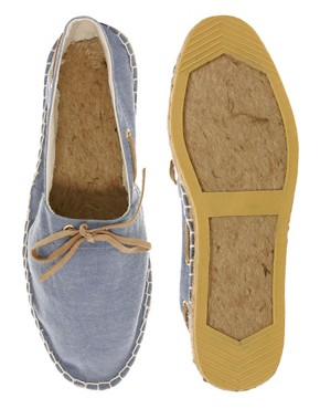 Image 3 ofASOS Espadrilles With Tie Front