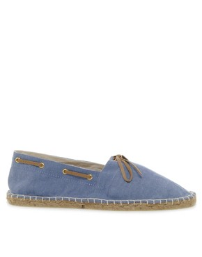Image 4 ofASOS Espadrilles With Tie Front