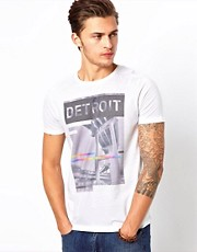 ASOS T-Shirt With Detroit Print