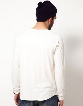 Image 2 ofNudie Henley NJ Long Sleeve T-Shirt