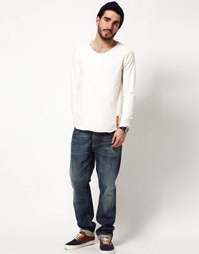 Image 4 ofNudie Henley NJ Long Sleeve T-Shirt