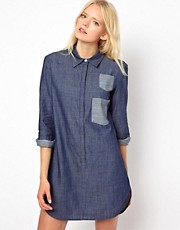 Baum und Pferdgarten Denim Shirt Dress