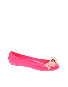 Image 1 ofTed Baker Joleey Pink Ballet Flats