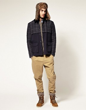 Image 4 ofASOS Check Walker Jacket