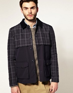 Image 1 ofASOS Check Walker Jacket