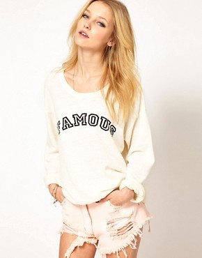 Image 1 of Wildfox Famous Sweat
