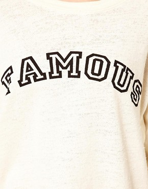 Image 3 of Wildfox Famous Sweat