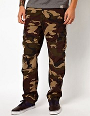 Carhartt Cargo Trousers Aviation Slim Camo Ripstop
