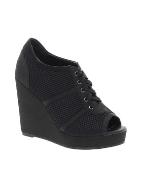 Image 1 ofASOS TRACK Wedge Shoe Boots