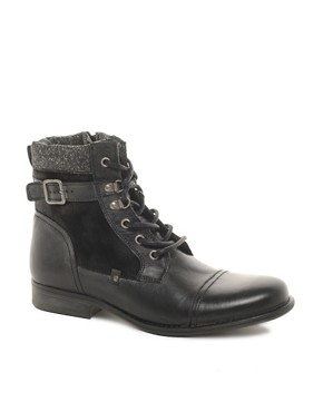 Image 1 ofRiver Island Leather Boots