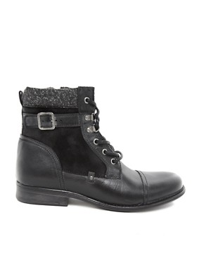 Image 4 ofRiver Island Leather Boots
