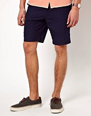 Suit Spot Print Shorts