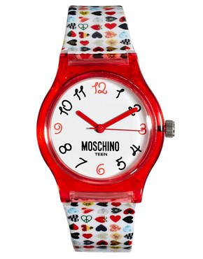Image 1 ofMoschino Cheap &amp; Chic Be Fashion Pink Watch