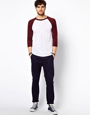 Image 4 ofAmerican Apparel Raglan Top