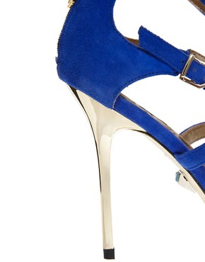 Image 2 ofSam Edelman Alena Blue Strappy Sandals