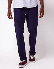 Makia Cord Trousers With Regular Flap Pocket