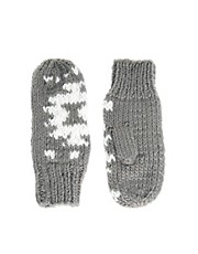 Warehouse Aztec Sparkle Mitten