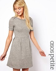 ASOS PETITE Exclusive Sweat Skater Dress