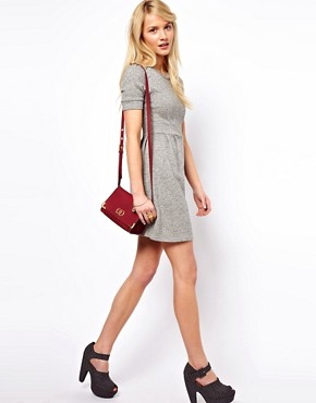 Image 4 of&#160;ASOS PETITE Exclusive Sweat Skater Dress