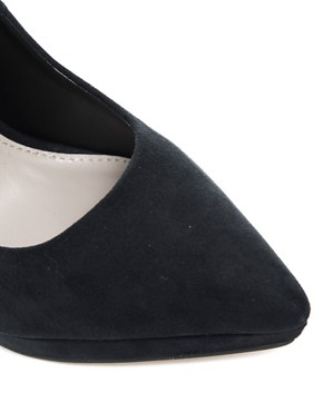 Image 4 of Carvela Annie Pointed Ankle Strap Court Shoes