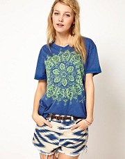 Denim &amp; Supply By Ralph Lauren Mandala Print T-Shirt