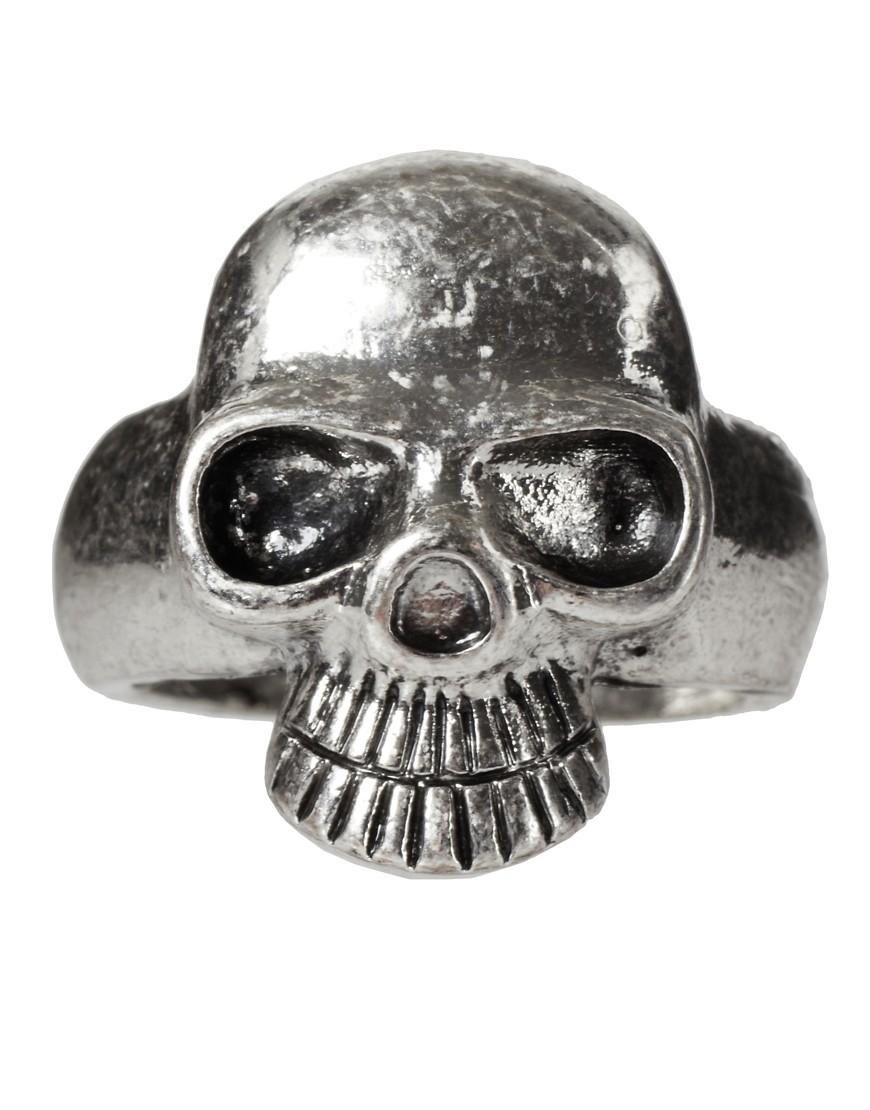 Image 2 ofASOS Skull Ring