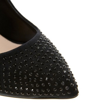 Image 4 of Carvela Grand Pointed Court Shoes with Stones