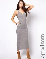 ASOS PETITE Exclusive Maxi Dress with V Neck