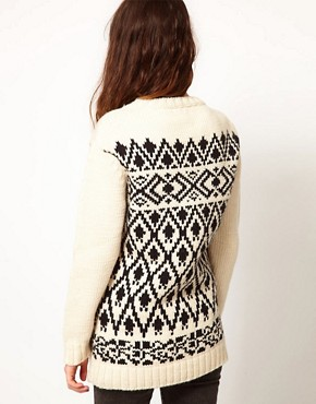 Image 2 ofKomodo &#39;Copper&#39; Jumper in Nordic Print