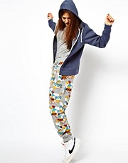 Pantalones de chndal con estampado de cmic Pow de ASOS