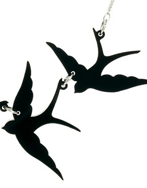 Image 4 ofTatty Devine Swallow Necklace