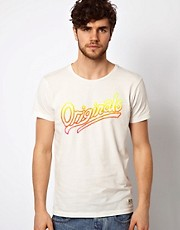 Jack & Jones  T-Shirt mit Neonmuster